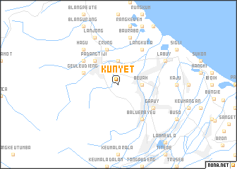 map of Kunyet