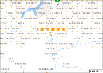 map of Kuo-ch\