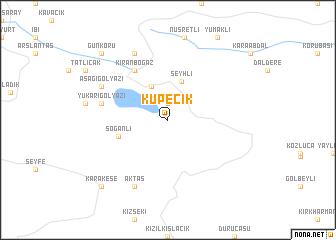 map of Küpecik