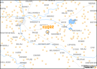 map of Kuqar