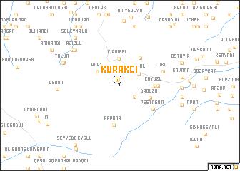 map of Kurǝkçi