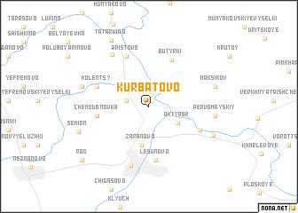 map of Kurbatovo