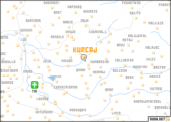map of Kurcaj