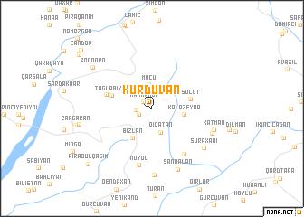 map of Kürdüvan