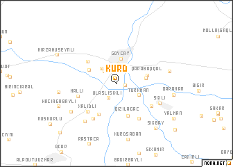 map of Kürd
