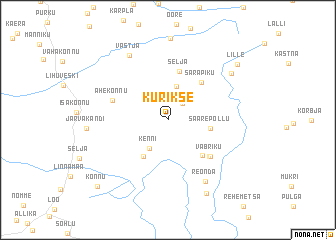 map of Kurikse