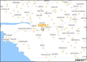 map of Kurili