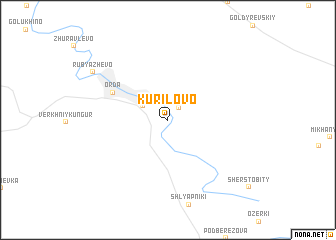 map of Kurilovo