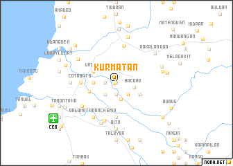 map of Kurmatan