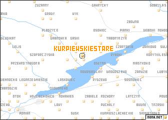 map of Kurpiewskie Stare