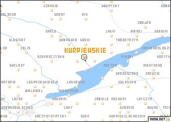 map of Kurpiewskie