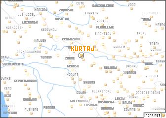 map of Kurtaj