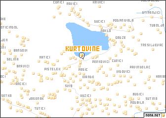 map of Kurtovine