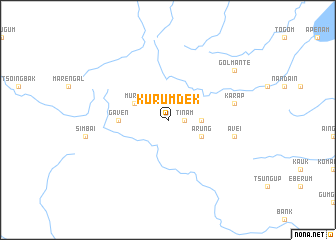 map of Kurumdek