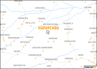 map of Kurupchou