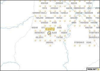 map of Kuru