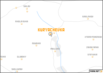 map of Kuryachevka