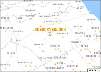 map of Kusarkyshlakh