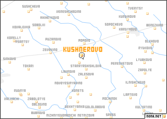 map of Kushnerovo