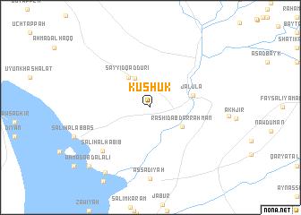map of Kushūk