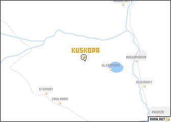 map of Kuskopa