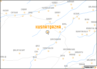 map of Küsnǝtqazma