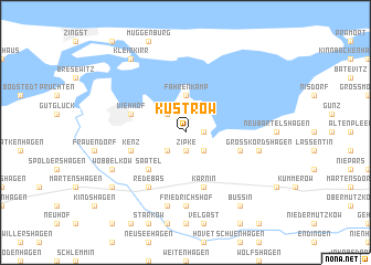 map of Küstrow