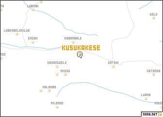 map of Kusu-Kakese