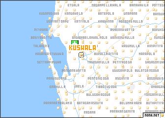 map of Kuswala