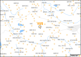 map of Kus