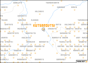 map of Kutsarovtsi