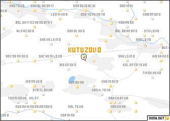 map of Kutuzovo
