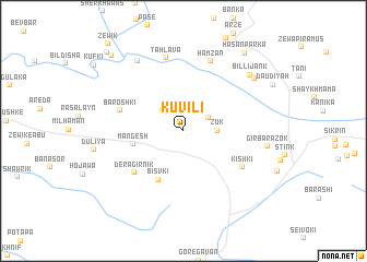 map of Kuvili