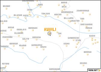 map of Kuvili
