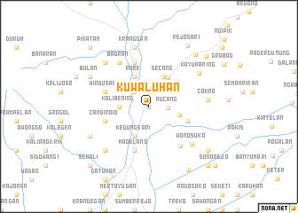 map of Kuwaluhan
