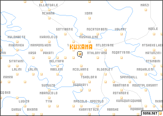 map of KuXama
