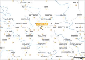 map of KuXama