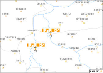 Kuyuba Turkey map nonanet