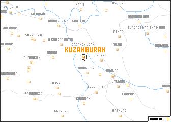 map of Kuzah Burah