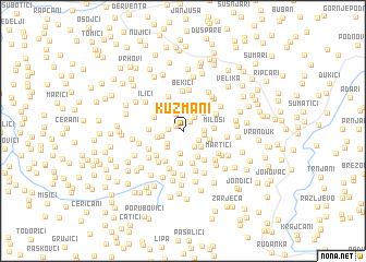 map of Kuzmani