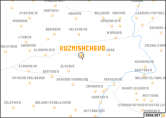 map of Kuz\