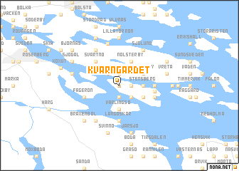 map of Kvarngärdet