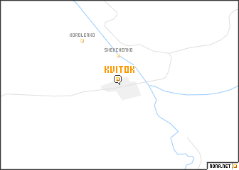 map of Kvitok