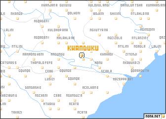 map of KwaNduku