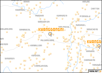 map of Kwangdong-ni