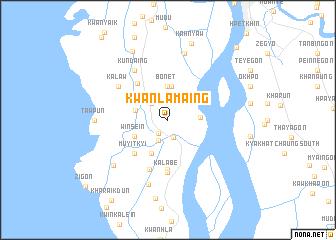 map of Kwanlamaing