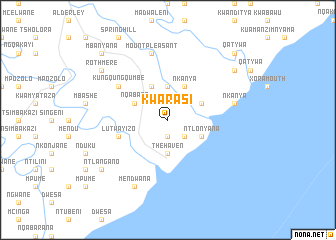 map of KwaRasi