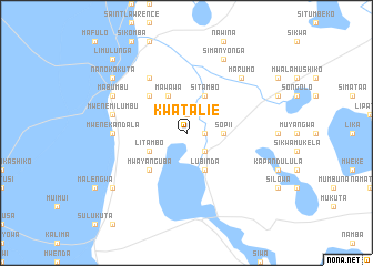 map of Kwatalie