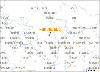 map of KwaVelelo