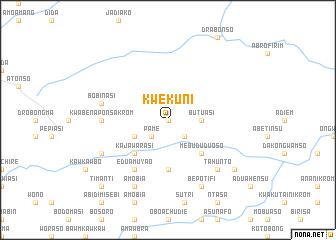 map of Kwekuni